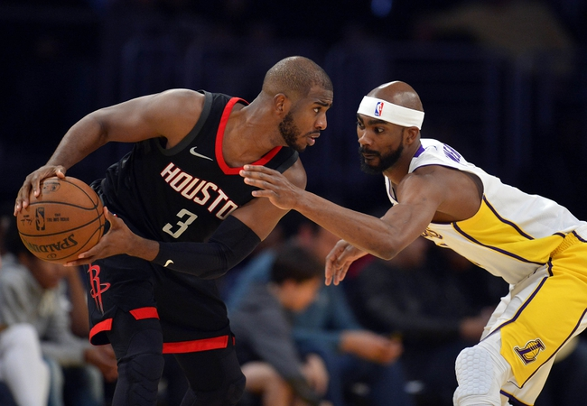 Houston Rockets vs. Los Angeles Lakers - 12/20/17 NBA Pick, Odds, and Prediction