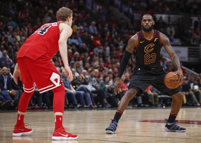 Cleveland Cavaliers vs. Chicago Bulls - 12/21/17 NBA Pick, Odds, and Prediction