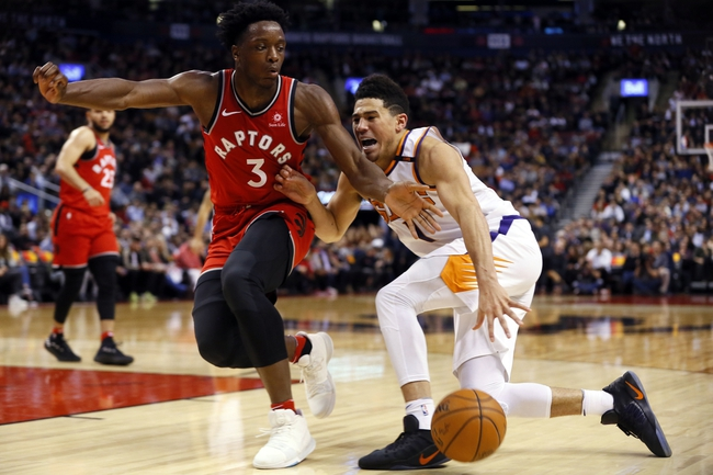 Phoenix Suns vs. Toronto Raptors - 12/13/17 NBA Pick, Odds, and Prediction