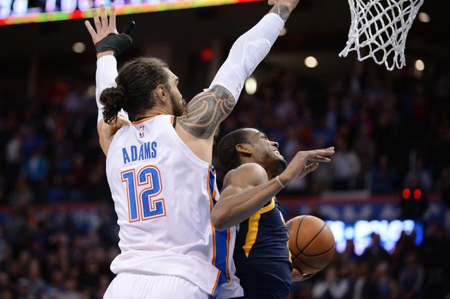 Oklahoma City Thunder vs. Utah Jazz - 12/20/17 NBA Pick, Odds, and Prediction