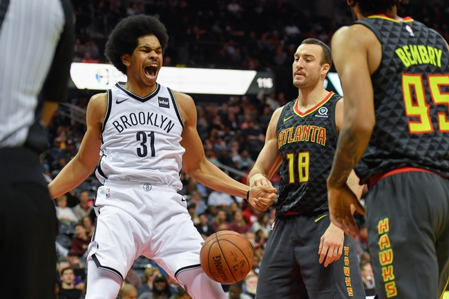 Atlanta Hawks vs. Brooklyn Nets - 1/12/18 NBA Pick, Odds, and Prediction