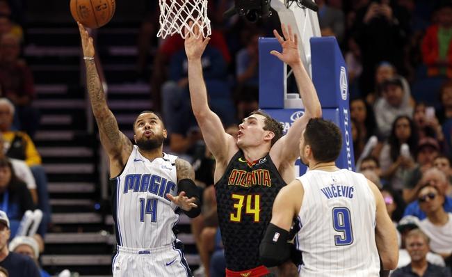 Atlanta Hawks vs. Orlando Magic - 12/9/17 NBA Pick, Odds, and Prediction