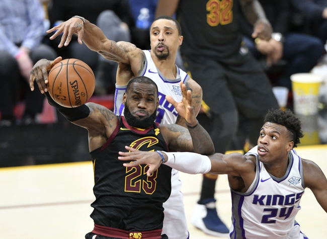 Sacramento Kings vs. Cleveland Cavaliers - 12/27/17 NBA Pick, Odds, and Prediction