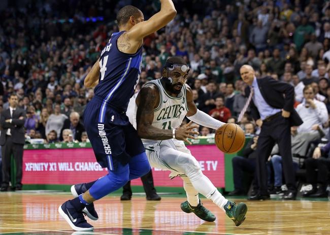 Dallas Mavericks vs. Boston Celtics - 11/24/18 NBA Pick, Odds, and Prediction