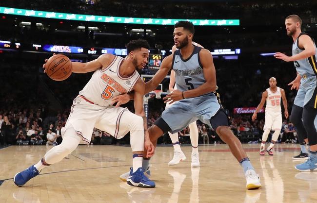 Memphis Grizzlies vs. New York Knicks - 1/17/18 NBA Pick, Odds, and Prediction