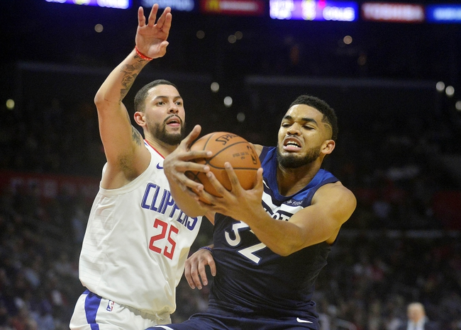 Los Angeles Clippers vs. Minnesota Timberwolves - 1/22/18 NBA Pick, Odds, and Prediction