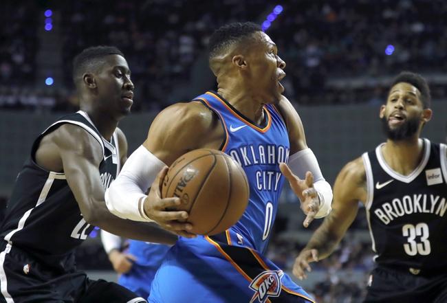 Oklahoma City Thunder vs. Brooklyn Nets - 1/23/18 NBA Pick, Odds, and Prediction
