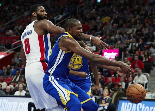 Detroit Pistons vs. Golden State Warriors - 12/1/18 NBA Pick, Odds, and Prediction