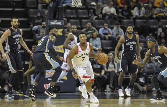 Toronto Raptors vs. Memphis Grizzlies - 2/4/18 NBA Pick, Odds, and Prediction
