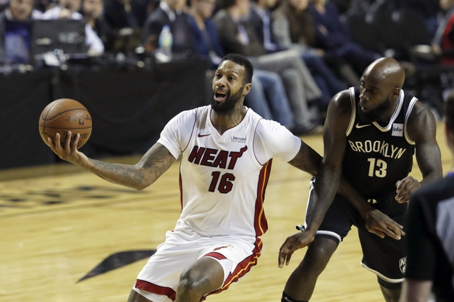 Miami Heat vs. Brooklyn Nets - 12/29/17 NBA Pick, Odds, and Prediction