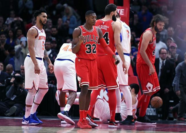 Chicago Bulls vs. New York Knicks - 12/27/17 NBA Pick, Odds, and Prediction