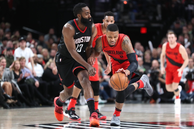 Houston Rockets vs. Portland Trail Blazers - 1/10/18 NBA Pick, Odds, and Prediction