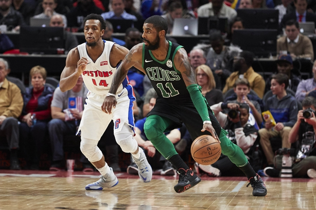 Detroit Pistons vs. Boston Celtics - 2/23/18 NBA Pick, Odds, and Prediction