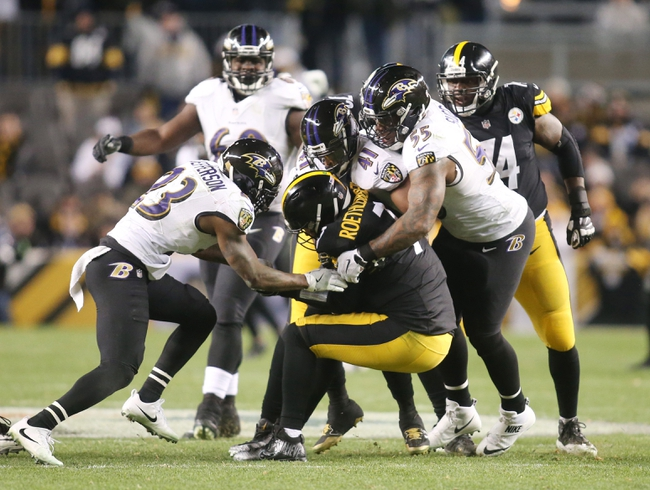 Baltimore Ravens at Pittsburgh Steelers - 9/30/18 NFL Pick, Odds, and Prediction