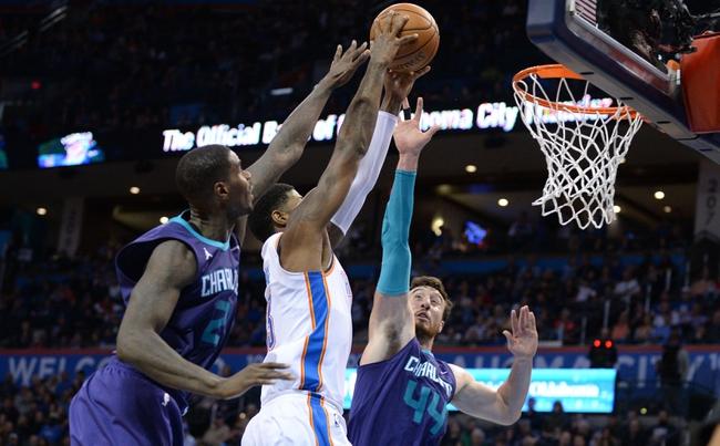 Charlotte Hornets vs. Oklahoma City Thunder - 1/13/18 NBA Pick, Odds, and Prediction