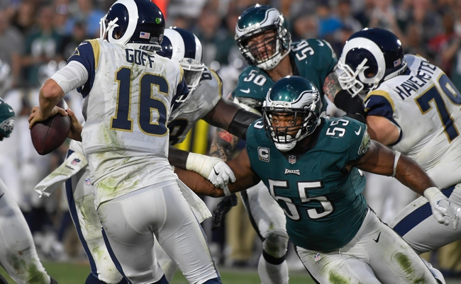 Philadelphia Eagles at Los Angeles Rams - 12/16/18 NFL Pick, Odds, and Prediction