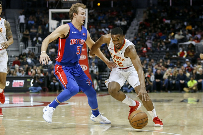 Atlanta Hawks vs. Detroit Pistons - 2/11/18 NBA Pick, Odds, and Prediction