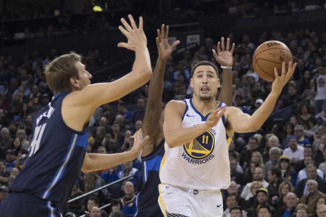 Dallas Mavericks vs. Golden State Warriors - 1/3/18 NBA Pick, Odds, and Prediction