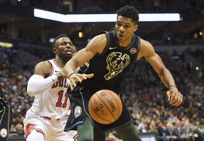 Milwaukee Bucks vs. Chicago Bulls - 12/26/17 NBA Pick, Odds, and Prediction