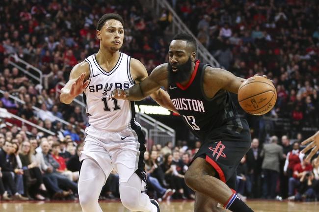 San Antonio Spurs vs. Houston Rockets - 2/1/18 NBA Pick, Odds, and Prediction