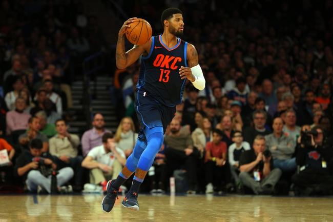 Oklahoma City Thunder vs. New York Knicks - 11/14/18 NBA Pick, Odds, and Prediction