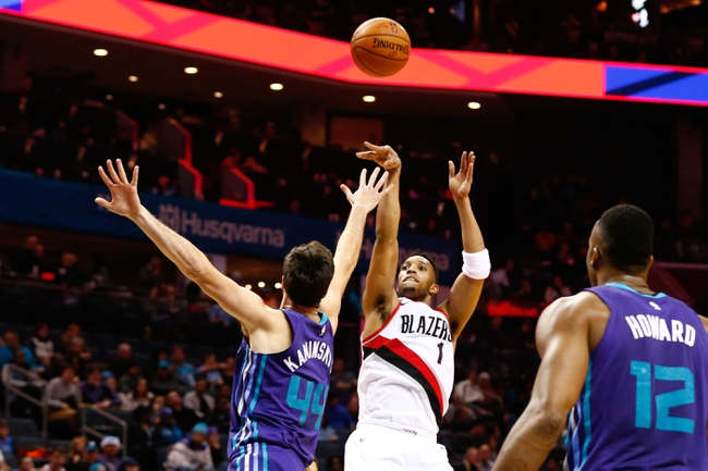 Portland Trail Blazers vs. Charlotte Hornets - 2/8/18 NBA Pick, Odds, and Prediction