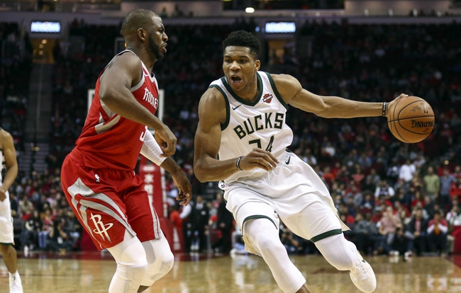 Milwaukee Bucks vs. Houston Rockets - 3/7/18 NBA Pick, Odds, and Prediction