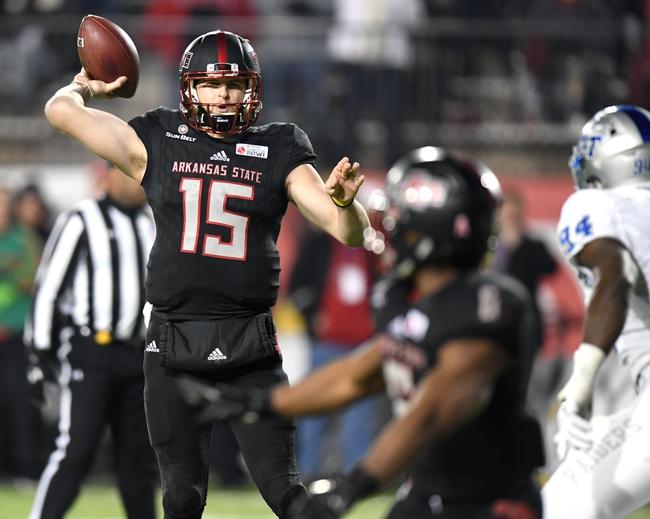 Nevada vs. Arkansas State - Arizona Bowl - 12/29/18 College Football Pick, Odds, and Prediction