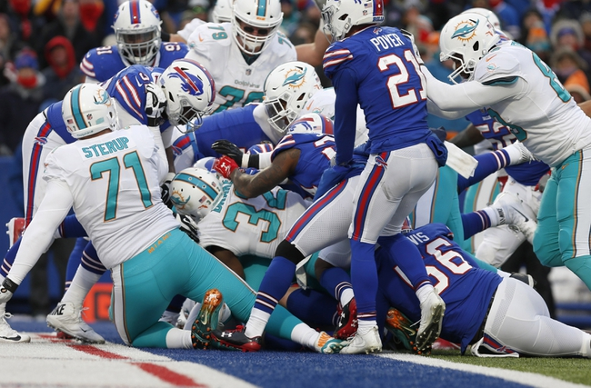 Miami Dolphins vs. Buffalo Bills - 12/31/17 NFL Pick, Odds, and Prediction