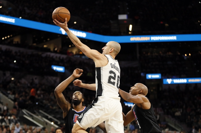 Los Angeles Clippers vs. San Antonio Spurs - 4/3/18 NBA Pick, Odds, and Prediction