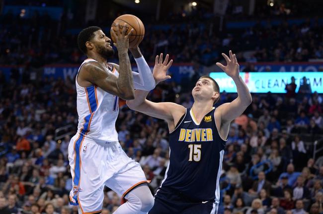 Denver Nuggets vs. Oklahoma City Thunder - 2/1/18 NBA Pick, Odds, and Prediction
