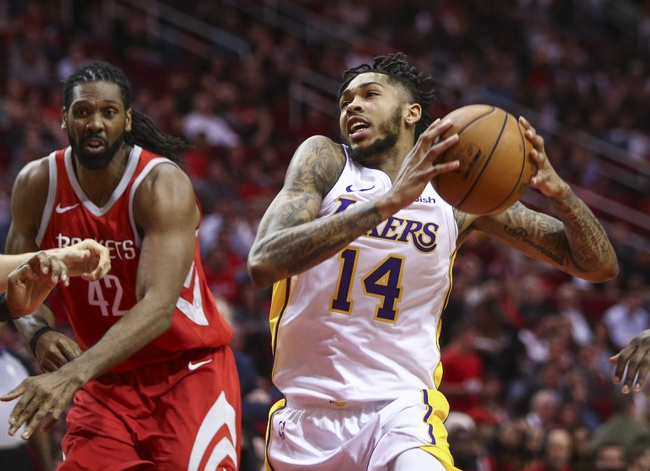 Houston Rockets vs. Los Angeles Lakers - 12/31/17 NBA Pick, Odds, and Prediction