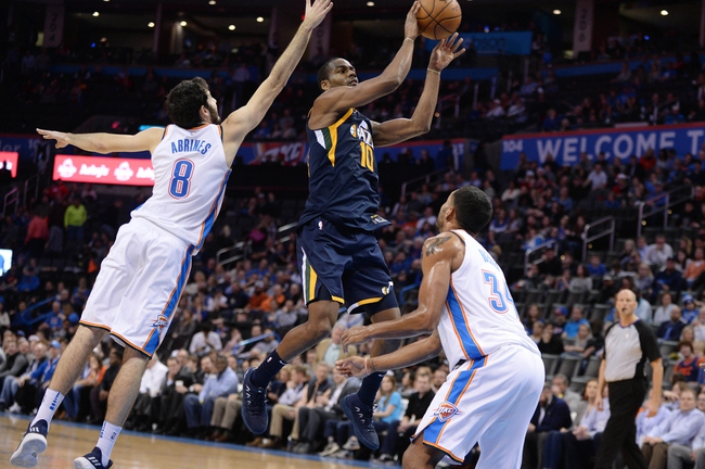 Utah Jazz vs. Oklahoma City Thunder - 12/23/17 NBA Pick, Odds, and Prediction