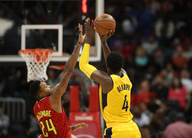 Atlanta Hawks vs. Indiana Pacers - 2/28/18 NBA Pick, Odds, and Prediction