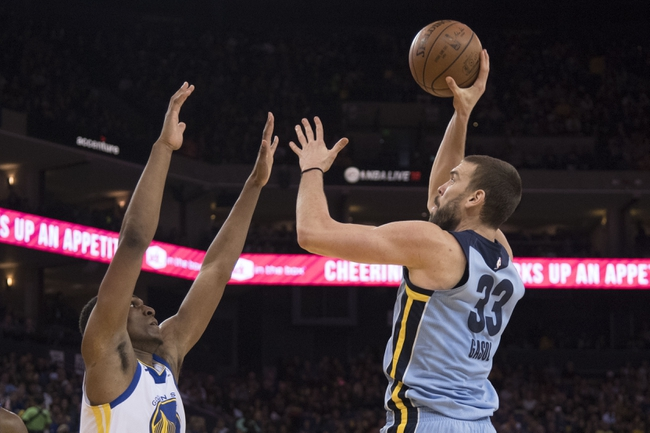 Golden State Warriors vs. Memphis Grizzlies - 12/30/17 NBA Pick, Odds, and Prediction