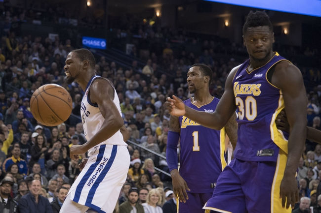 Golden State Warriors vs. Los Angeles Lakers - 3/14/18 NBA Pick, Odds, and Prediction