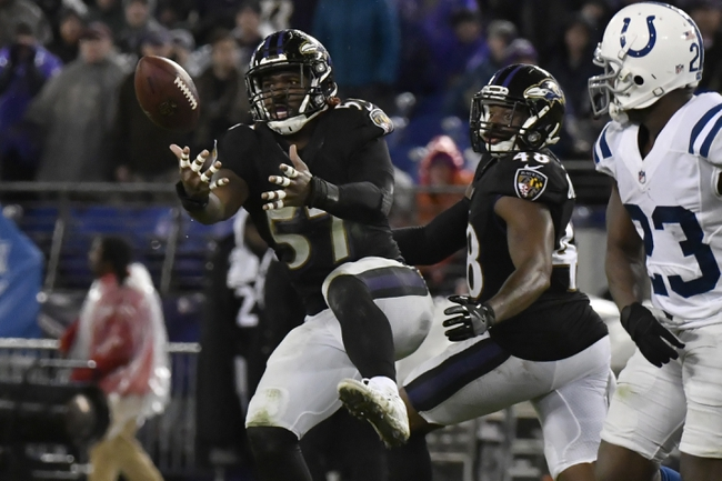 Indianapolis Colts vs. Baltimore Ravens - 8/20/18 NFL Pick, Odds, and Prediction