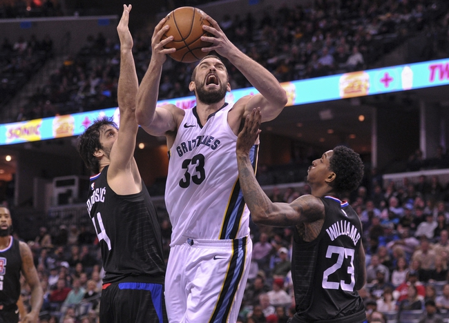 Los Angeles Clippers vs. Memphis Grizzlies - 1/2/18 NBA Pick, Odds, and Prediction