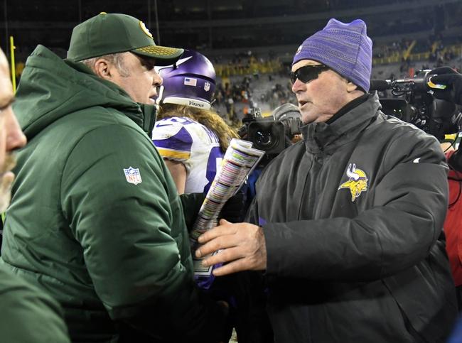 Green Bay Packers vs. Minnesota Vikings - 9/16/18 NFL Pick, Odds, and Prediction