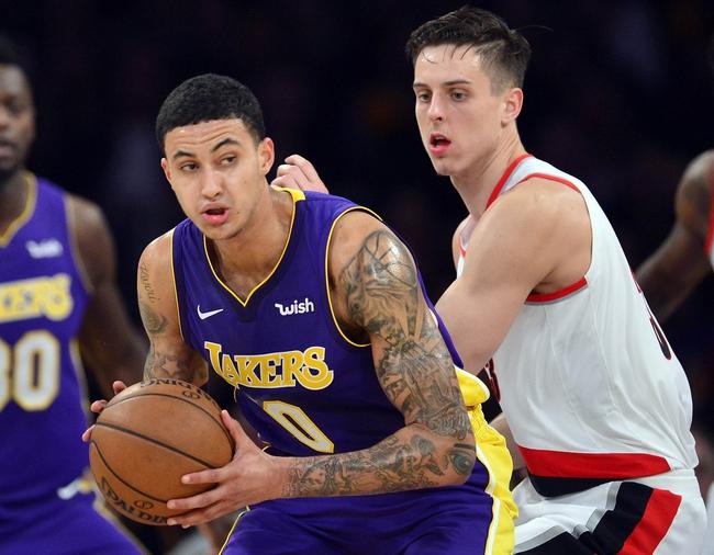 Los Angeles Lakers vs. Portland Trail Blazers - 3/5/18 NBA ...