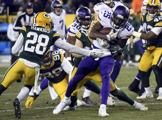 Minnesota Vikings at Green Bay Packers - 9/16/18 NFL Pick, Odds, and Prediction
