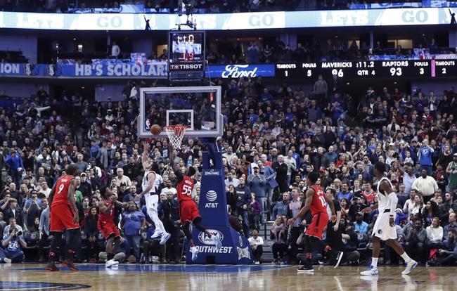 Toronto Raptors vs. Dallas Mavericks - 3/16/18 NBA Pick, Odds, and Prediction