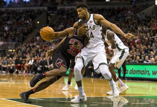 Chicago Bulls vs. Milwaukee Bucks - 1/28/18 NBA Pick, Odds, and Prediction