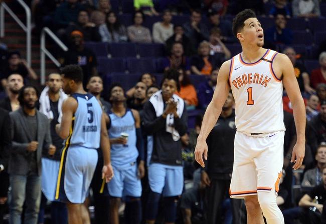 Memphis Grizzlies vs. Phoenix Suns - 1/29/18 NBA Pick, Odds, and Prediction