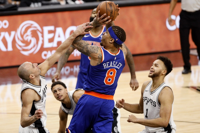 New York Knicks vs. San Antonio Spurs - 1/2/18 NBA Pick, Odds, and Prediction