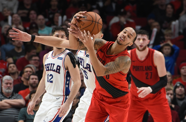 Portland Trail Blazers vs. Philadelphia 76ers - 12/30/18 NBA Pick, Odds, and Prediction