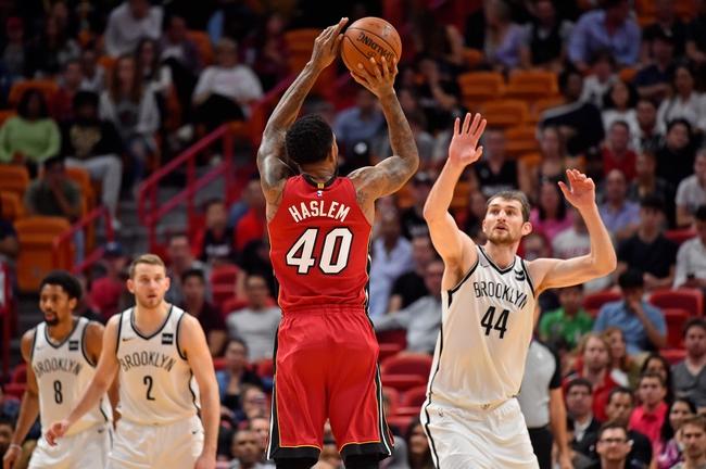 Brooklyn Nets vs. Miami Heat - 1/19/18 NBA Pick, Odds, and Prediction