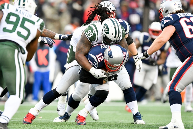 New England Patriots vs. New York Jets - 12/30/18 NFL Pick, Odds, and Prediction