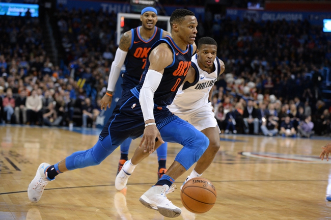 Dallas Mavericks vs. Oklahoma City Thunder - 2/28/18 NBA Pick, Odds, and Prediction