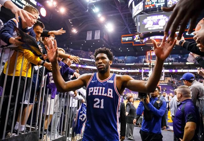 Philadelphia 76ers vs. Phoenix Suns - 11/19/18 NBA Pick, Odds, and Prediction